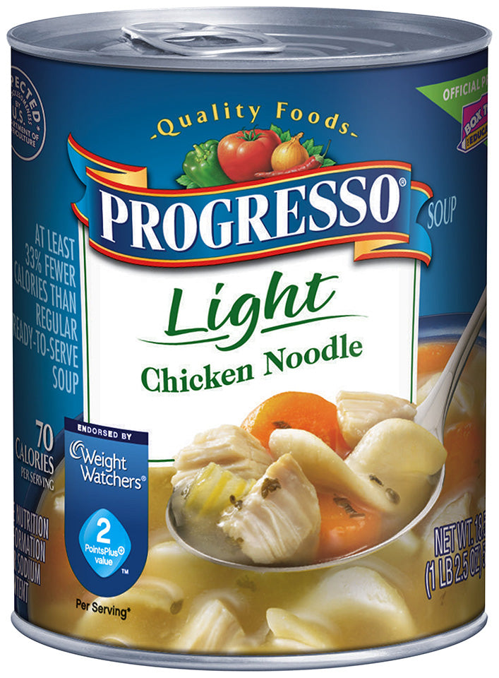 Progresso Light Chicken Noodle Soup, 18.5 oz