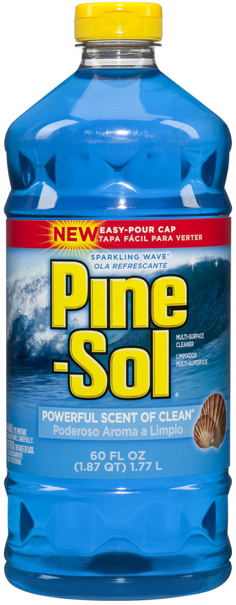 Pine-Sol Multi-Surface Cleaner, Sparkling Wave, 60 oz