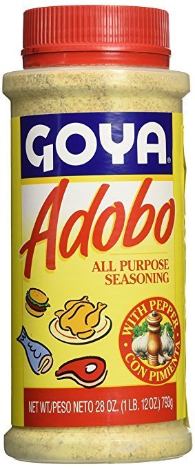 Goya Adobo Seasoning 28 Oz Goisco Com