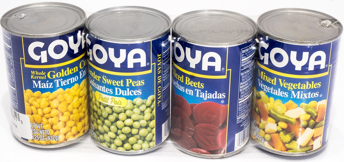 Goya Mixed Vegetables Assortment, 4 pk