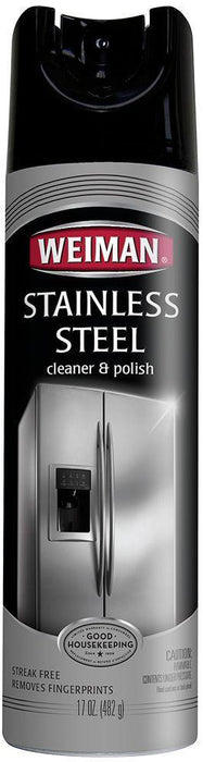 Weiman Stainless Steel Cleaner & Polish, 17 oz