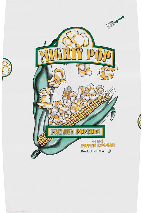 Mighty Pop Premium Popcorn, 50 lbs
