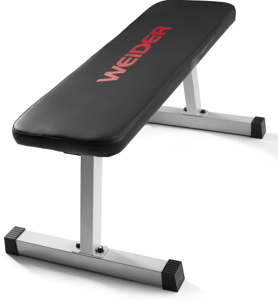 Weider Flat Weight Bench With Vinyl Seat, 1 pc