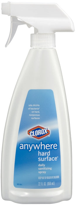 Clorox Anywhere Hard Surface Daily Sanitizing Spray, 22 oz