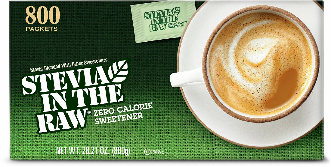 Stevia in the Raw Sweetener, 800 ct