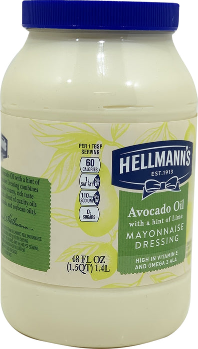 Hellmann's Avocado Oil Mayonnaise Dressing, 48 oz