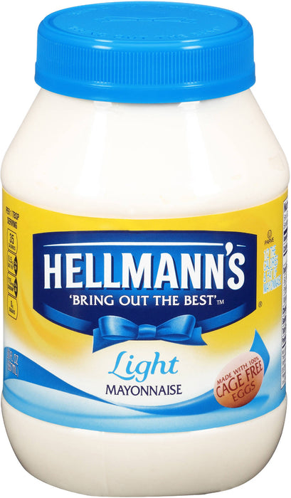 Hellmann's Light Mayonnaise, 30 oz