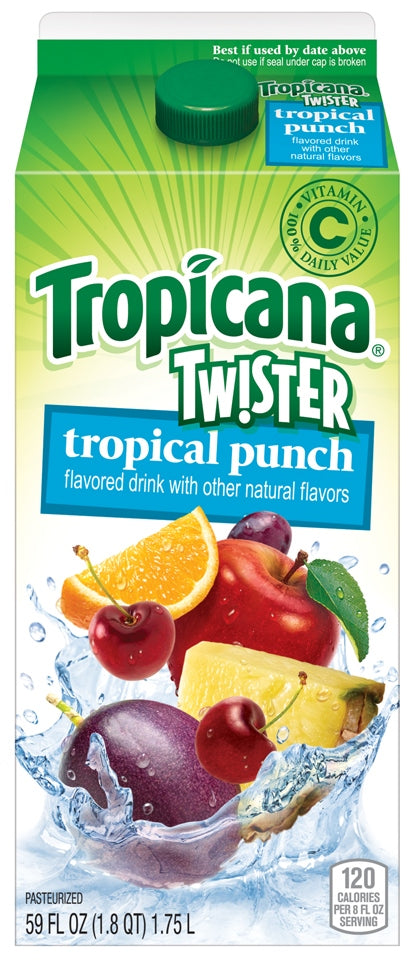 Tropicana Twister Tropical Punch, 1.75 L