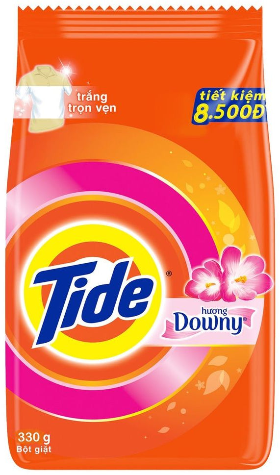 Tide with Downy Powder Laundry Detergent, 330 gr