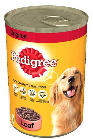 Pedigree Loaf 100% Complete Nutrition Dog Food, 400 gr