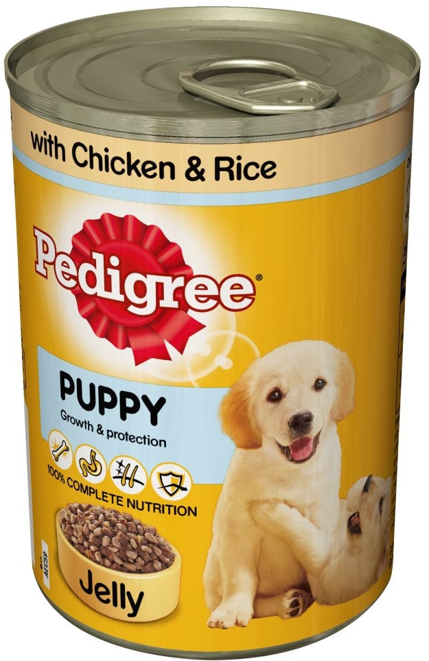 Pedigree Puppy Growth & Protection Dog Food, 100% Complete & Balanced, 400 gr