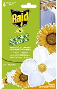 Raid Anti-Moth Protection, 4 ct