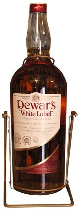 Dewar's White Label Blended Scotch Whisky, 4.5 L