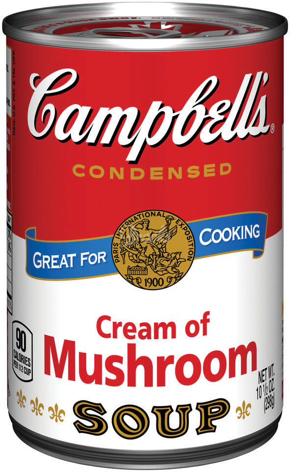 Campbell's Cream of Mushroom, 50 oz