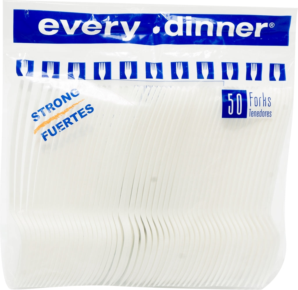 Every Dinner Strong Forks, 50 ct