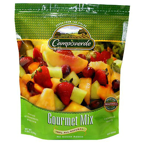Campoverde Gourmet Mix, 100% Natural, No Sugar Added, 5 lbs