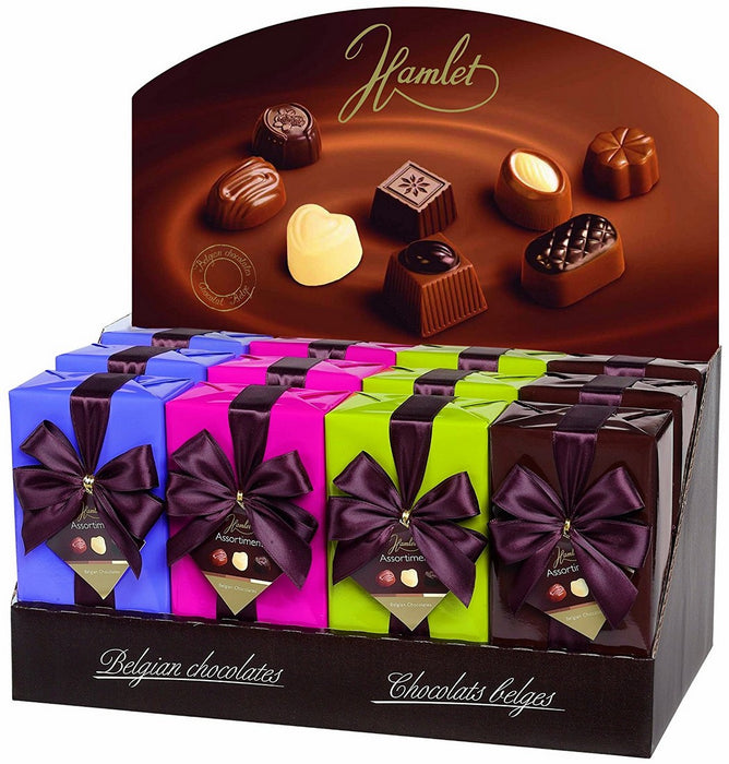 Hamlet Assorted Belgian Chocolate Pralines (gift box color may vary), 250 gr