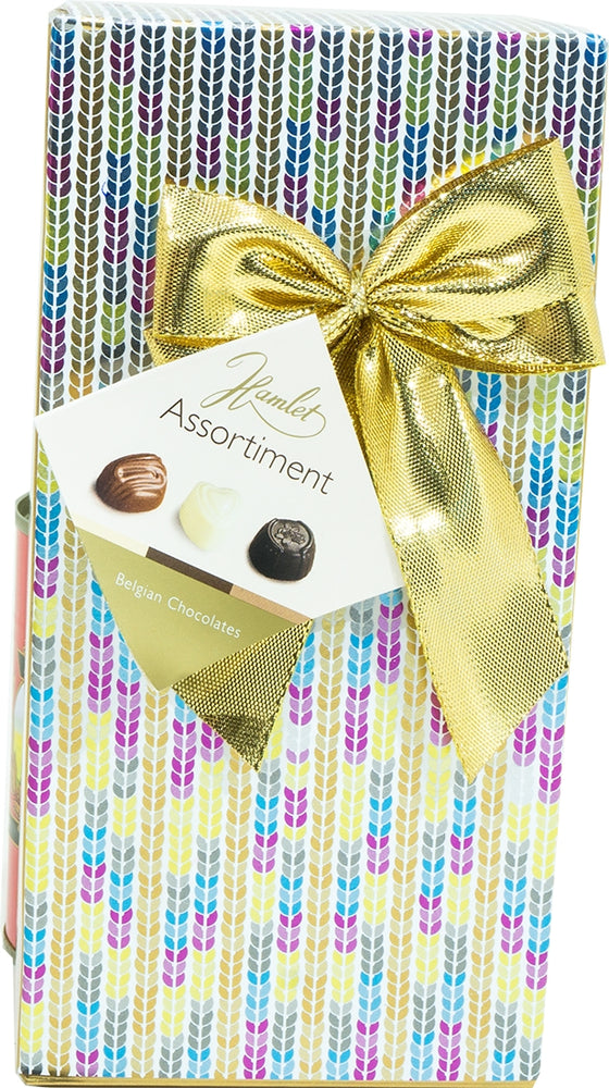 Hamlet Assorted Belgian Chocolates Colorful Gift Box, 125 gr