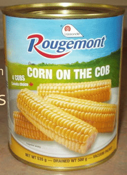 Rougemont Corn on the Cob, 500 gr