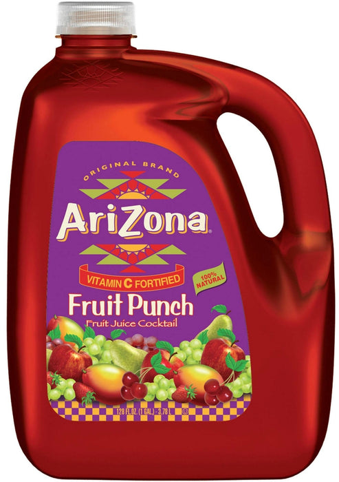 AriZona Fruit Punch With All Natural Flavors, with Vitamin C, 1 gal