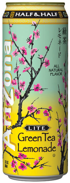 AriZona Lite Green Tea Lemonade, 23 oz