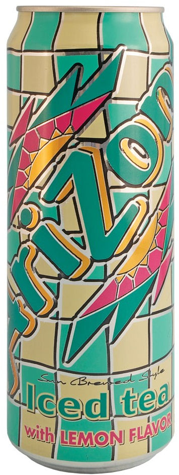AriZona Iced Tea with Lemon Flavor, 23 oz
