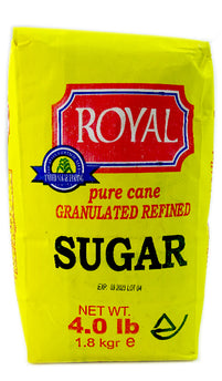 Royal Pure Cane Sugar, 4 lbs