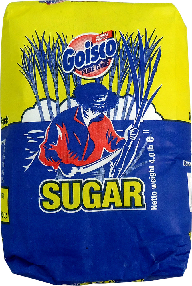 Goisco Sugar, 100% Natural Pure Cane, 4 lbs