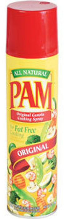 Pam Original No-Stick Cooking Spray,  Canola Oil, Fat Free, 12 oz