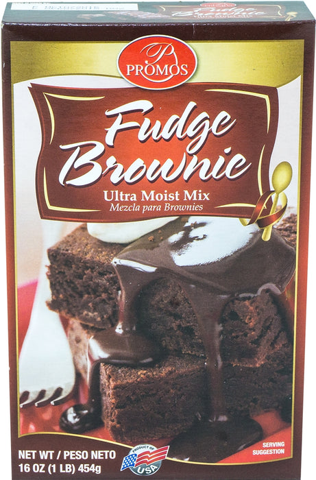 Promos Brownie Mix, 16 oz