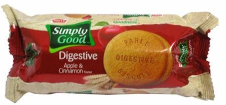 Parle Simply Good Digestive Biscuit, Apple & Cinnamon Flavour, S