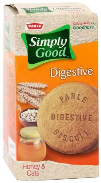 Parle Simply Good Digestive Biscuits, Honey Oats, 250 gr