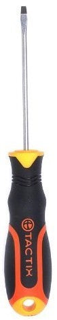 Tactix Screwdriver, Yellow, 75 mm (3 inch)