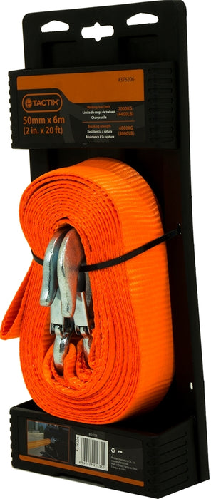 Tactix Tow Strap Tie Down, 60 mm x 5 m,