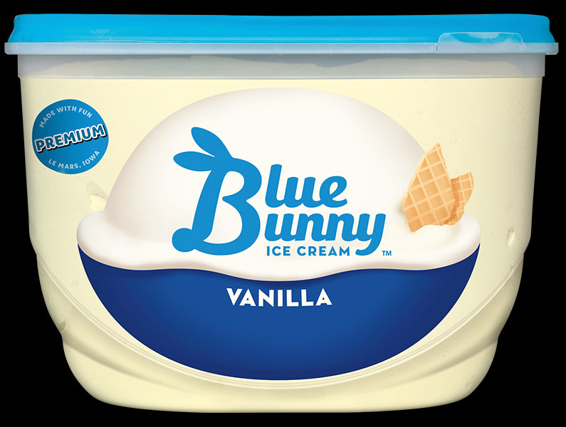 Blue Bunny Vanilla Ice Cream, 48 oz
