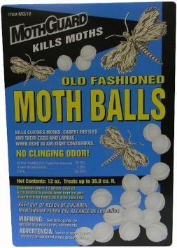 Mothguard Moth Balls, 12 oz