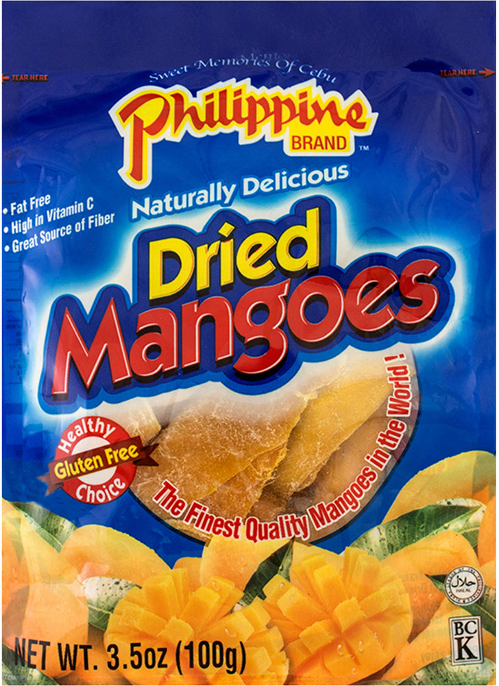 Philippine Naturally Delicious Dried Mangoes, 30 oz
