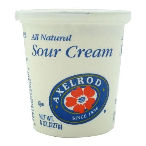 Axelrod Sour Cream, 8 oz