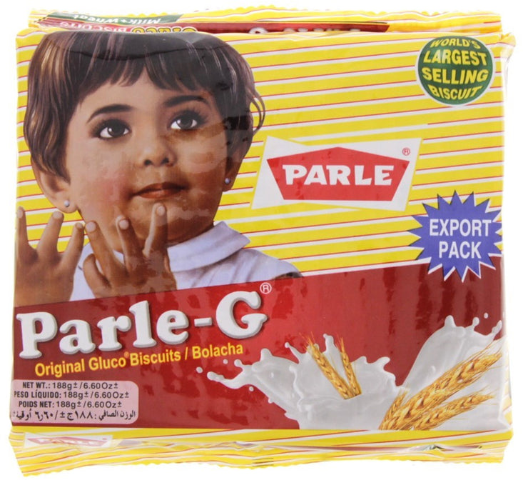 Parle-G Milk Wheat Biscuits, 188 gr