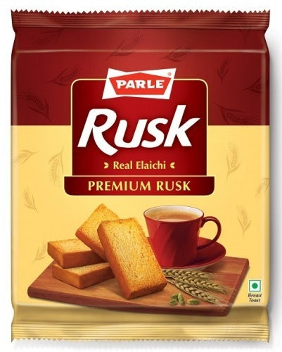 Parle Rusk Bread Toast Crackers, 200 gr