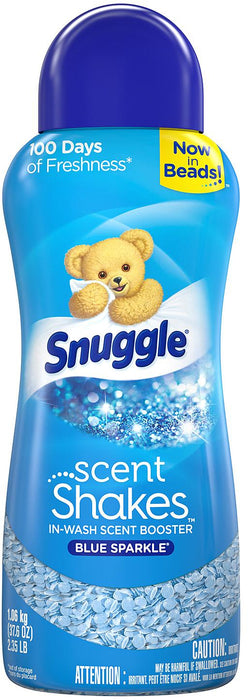 Snuggle Scent Shakes In-Wash Scent Booster Shakes, Blue Sparkle , 37.6 oz