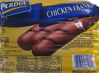 Perdue Chicken Franks, 12 oz