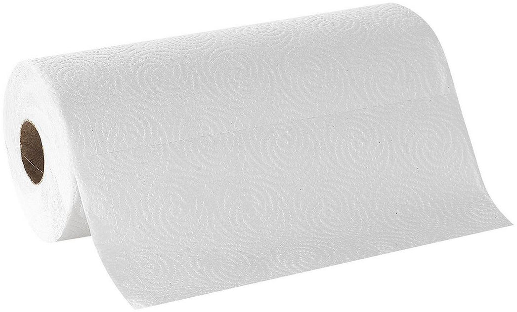 POM Paper Towels Mega Roll, 100 sheets, 2-ply, 1 roll