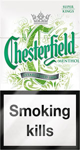 Chesterfield Menthol Cigarettes, Slog, 10-pack