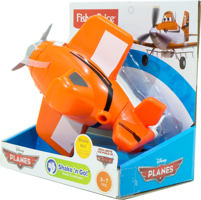 Fisher Price Shake N Go Plane, Orange,