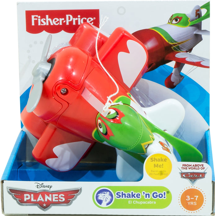 Fisher Price Shake N Go Plane, Red,
