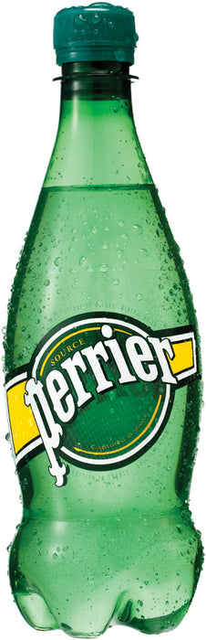 Perrier Sparkling Natural Mineral Water, 0.5 L