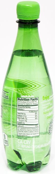 Perrier Water, Green Apple, 0.5 L