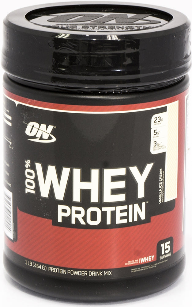 On Whey Protein, Vanilla Ice Cream, 1 lbs