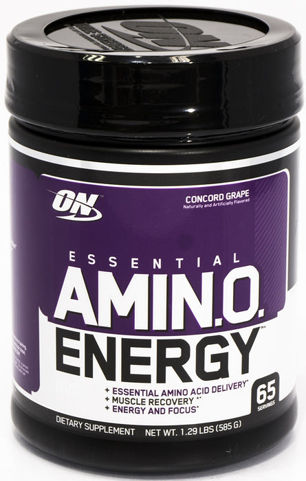 On Essential Amino Energy, Concord Grape, 1.29 lbs